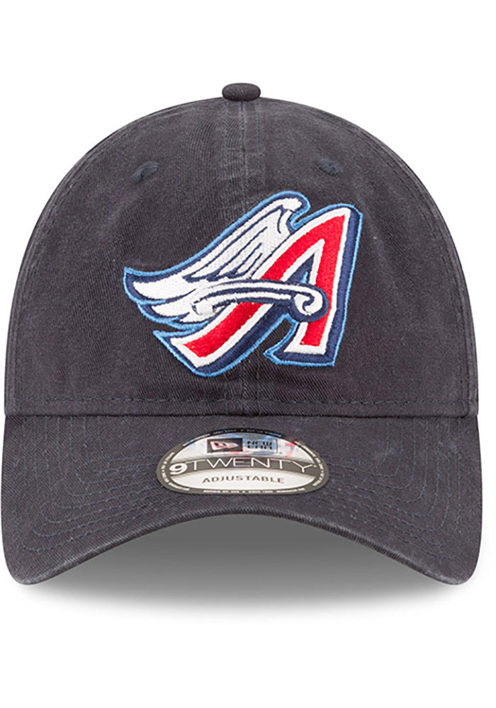New Era Los Angeles Angels Core Classic Replica 9TWENTY Adjustable Hat - Navy Blue - Image 3