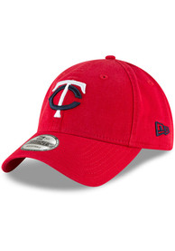 New Era Minnesota Twins Core Classic 9TWENTY Adjustable Hat - Red