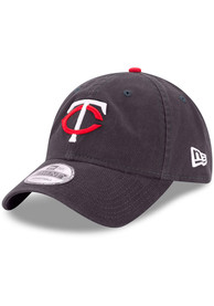 New Era Minnesota Twins Core Classic Replica 9TWENTY Adjustable Hat - Navy Blue