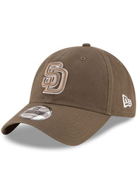 San Diego Padres New Era Core Classic Replica 9TWENTY Adjustable Hat - Brown