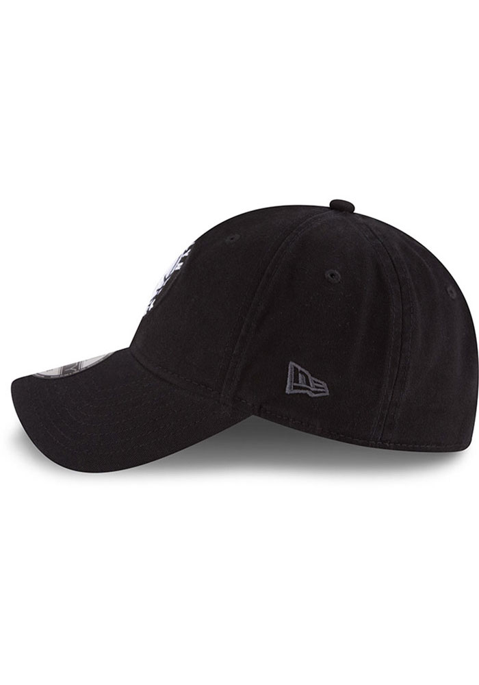 New Era Brooklyn Nets Core Classic 9TWENTY Adjustable Hat - Black - Image 4
