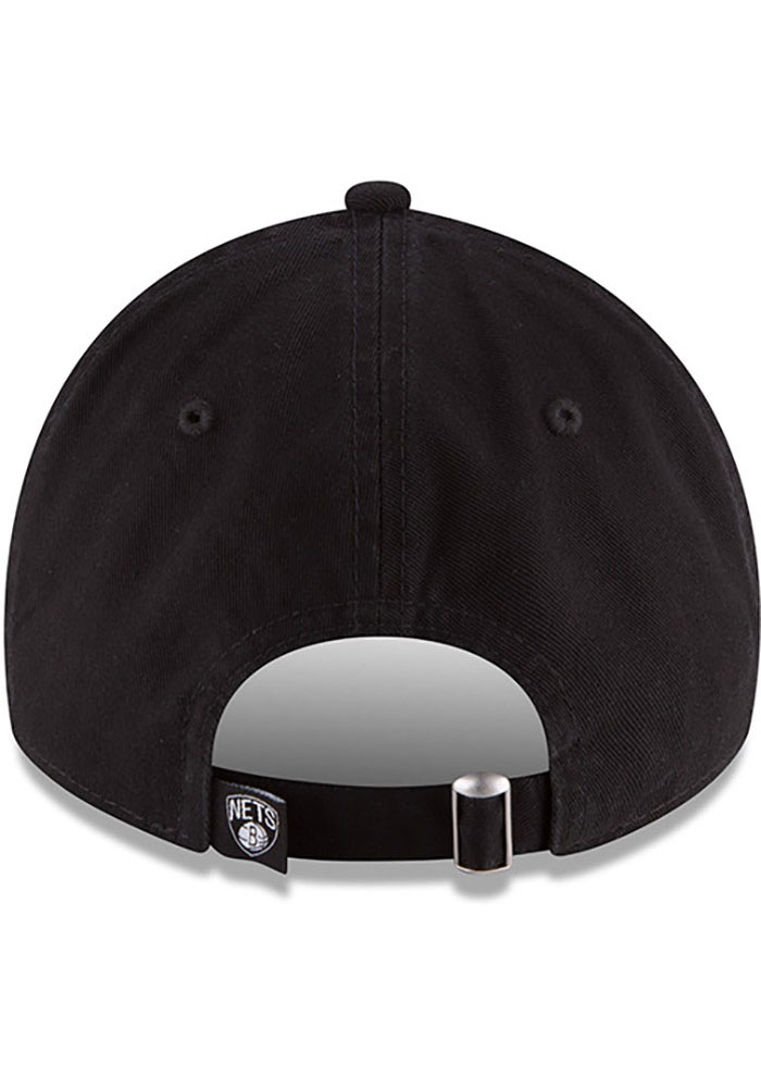 New Era Brooklyn Nets Core Classic 9TWENTY Adjustable Hat - Black - Image 5