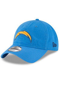 Los Angeles Chargers New Era Core Classic 9TWENTY Adjustable Hat - Light Blue