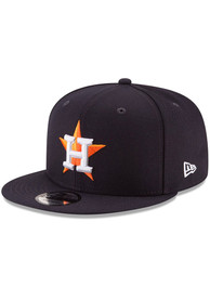 Houston Astros New Era Basic 9FIFTY Snapback - Navy Blue