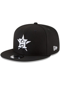 Houston Astros New Era Basic 9FIFTY Snapback - Black