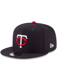 Minnesota Twins New Era Basic 9FIFTY Snapback - Navy Blue