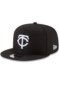 Minnesota Twins New Era Basic 9FIFTY Snapback - Black