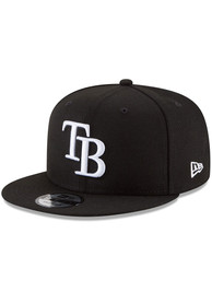 Tampa Bay Rays New Era Basic 9FIFTY Snapback - Black