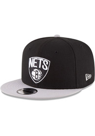 Brooklyn Nets New Era 2Tone 9FIFTY Snapback - Black