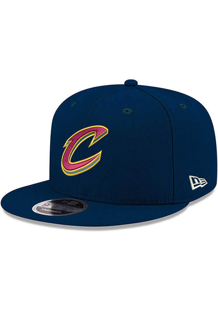 One Size, Red Rugged Mark New Era Cleveland Cavaliers Adjustable Strapback Hat MLB 9fifty Flat Bill Caps