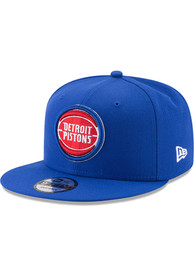 Detroit Pistons New Era 9FIFTY Snapback - Blue