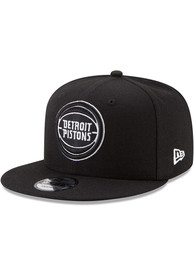 Detroit Pistons New Era 9FIFTY Snapback - Black