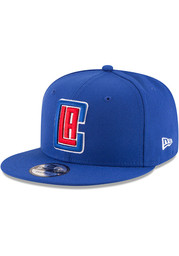 New Era Los Angeles Clippers Blue 9FIFTY Mens Snapback Hat