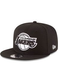 Los Angeles Lakers New Era 9FIFTY Snapback - Black