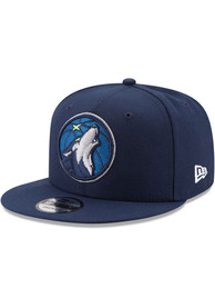 Minnesota Timberwolves New Era 9FIFTY Snapback - Navy Blue