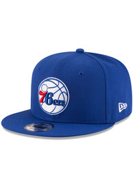 Philadelphia 76ers New Era 9FIFTY Snapback - Blue