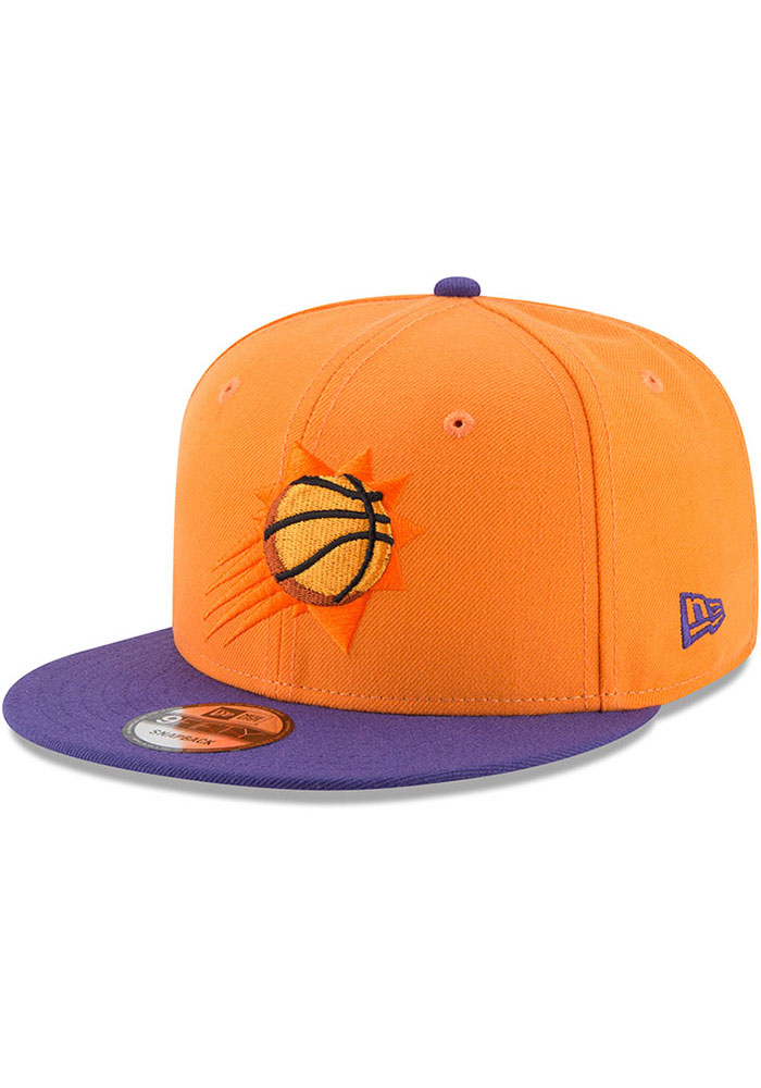 New Era Phoenix Suns Orange 2tone 9fifty Mens Snapback Hat 59001850
