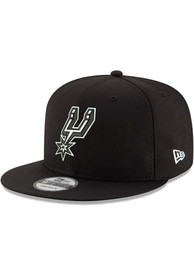 San Antonio Spurs New Era 9FIFTY Snapback - Black