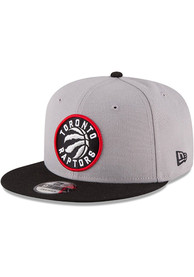 Toronto Raptors New Era 9FIFTY Snapback - Grey