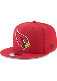 Arizona Cardinals New Era Basic 9FIFTY Snapback - Cardinal