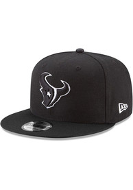 Houston Texans New Era Basic 9FIFTY Snapback - Black