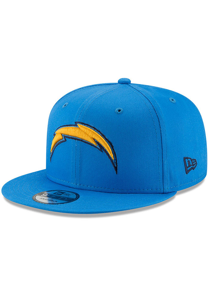 New Era Los Angeles Chargers Blue Basic 9FIFTY Mens Snapback Hat - Image 1