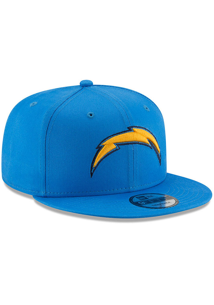 New Era Los Angeles Chargers Blue Basic 9FIFTY Mens Snapback Hat - Image 2