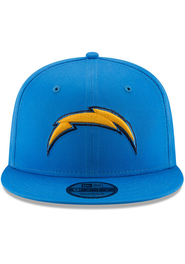New Era Los Angeles Chargers Blue Basic 9FIFTY Mens Snapback Hat - Image 3