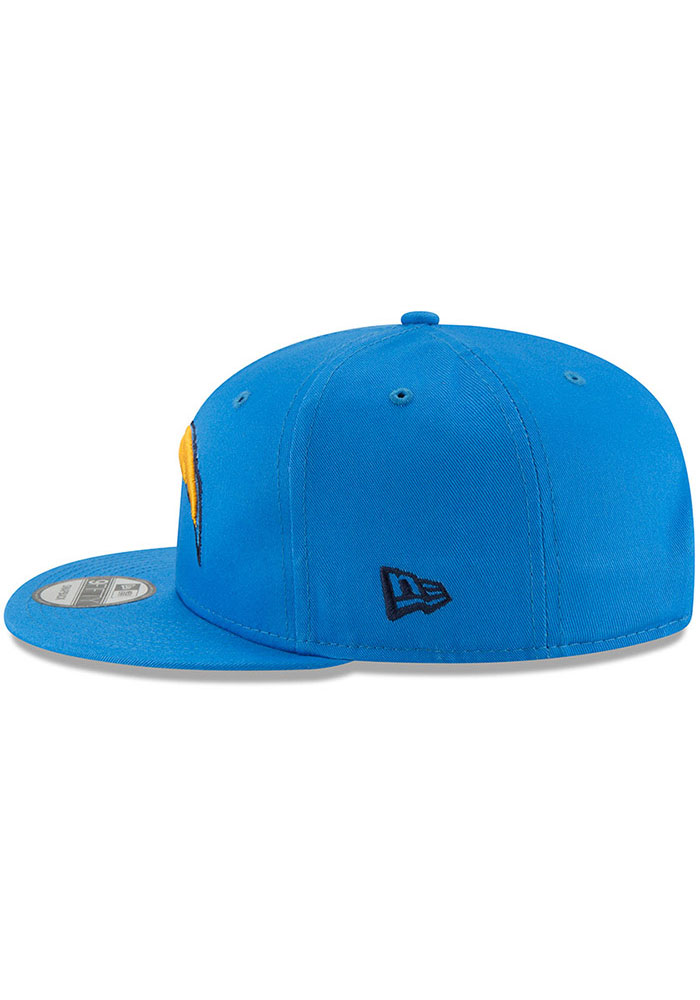 New Era Los Angeles Chargers Blue Basic 9FIFTY Mens Snapback Hat - Image 4