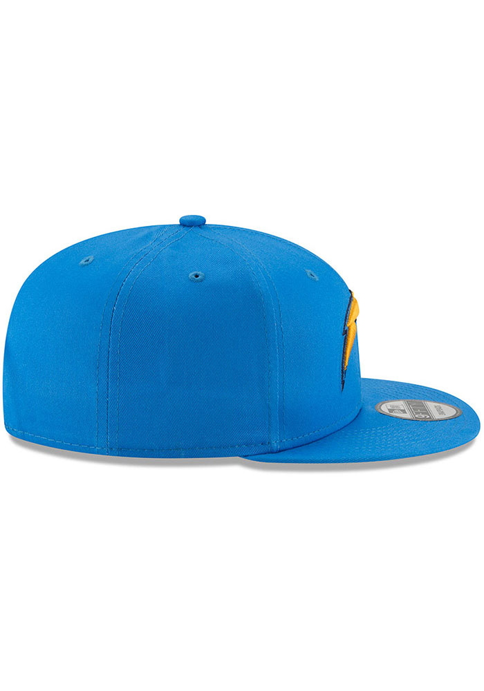 New Era Los Angeles Chargers Blue Basic 9FIFTY Mens Snapback Hat - Image 6