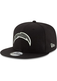 Los Angeles Chargers New Era Basic 9FIFTY Snapback - Black