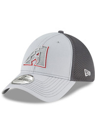 Arizona Diamondbacks New Era Grayed Out Neo 39THIRTY Flex Hat - Grey