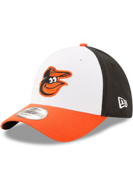 Baltimore Orioles New Era Team Classic 39THIRTY Flex Hat - White