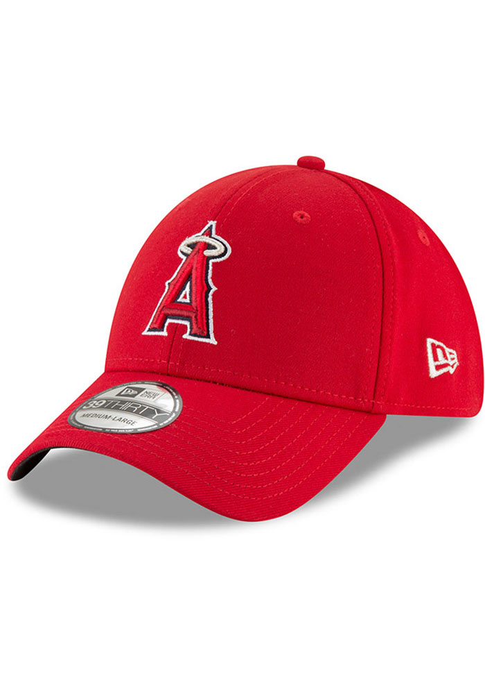 Los Angeles Angels New Era Team Classic 39THIRTY Flex Hat - Red