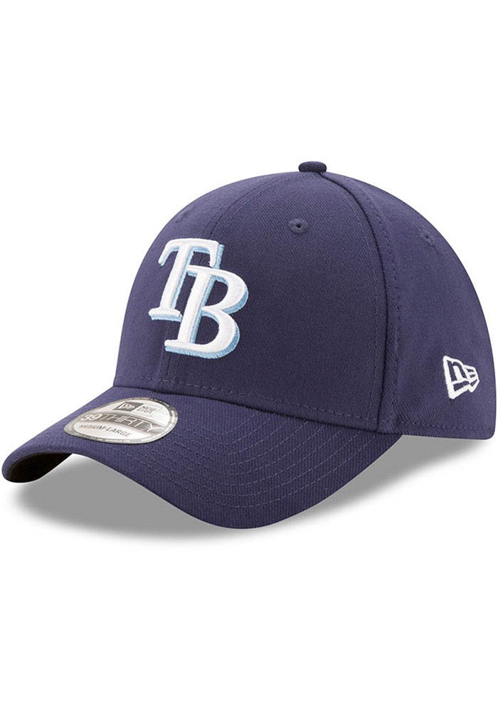 Tampa Bay Rays New Era Team Classic 39THIRTY Flex Hat - Navy Blue