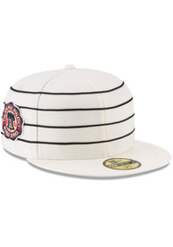 Philadelphia Athletics New Era 1910 World Series Side Patch 59FIFTY Fitted Hat - White