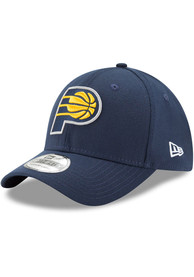 Indiana Pacers New Era Team Classic 39THIRTY Flex Hat - Navy Blue