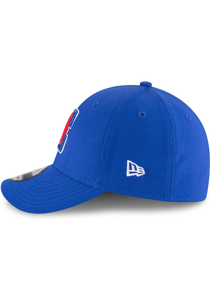 New Era Los Angeles Clippers Mens Blue Team Classic 39THIRTY Flex Hat - Image 4