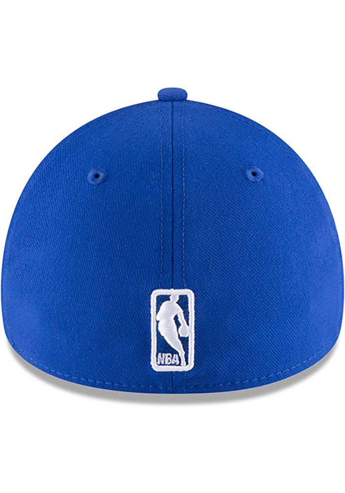 New Era Los Angeles Clippers Mens Blue Team Classic 39THIRTY Flex Hat - Image 5