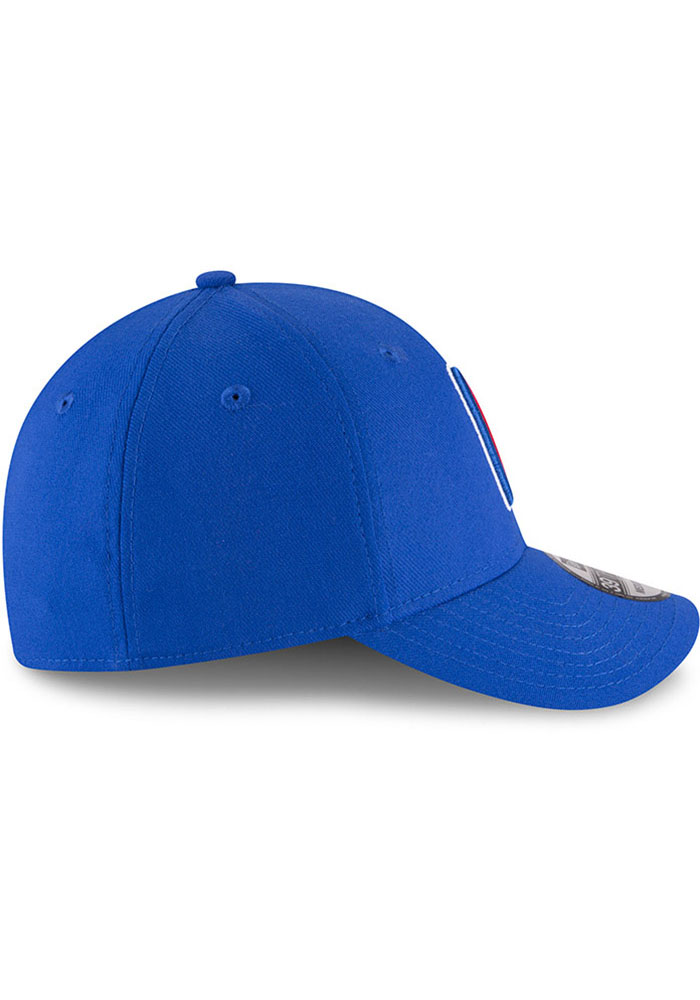 New Era Los Angeles Clippers Mens Blue Team Classic 39THIRTY Flex Hat - Image 6