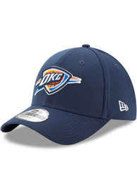 Oklahoma City Thunder New Era Team Classic 39THIRTY Flex Hat - Navy Blue