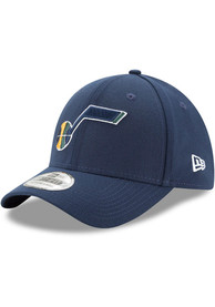 Utah Jazz New Era Team Classic 39THIRTY Flex Hat - Navy Blue