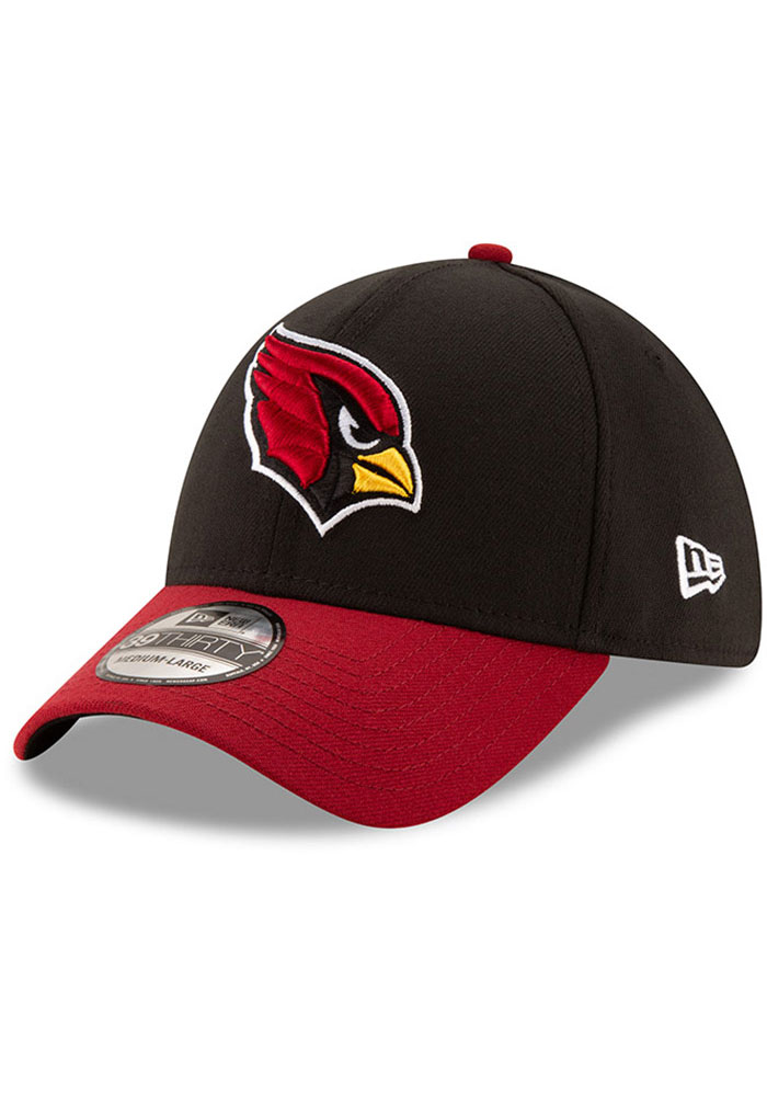 Arizona Cardinals New Era Team Classic 39THIRTY Flex Hat - Black