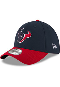 Houston Texans New Era Team Classic 39THIRTY Flex Hat - Navy Blue