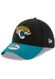 Jacksonville Jaguars New Era Team Classic 39THIRTY Flex Hat - Black