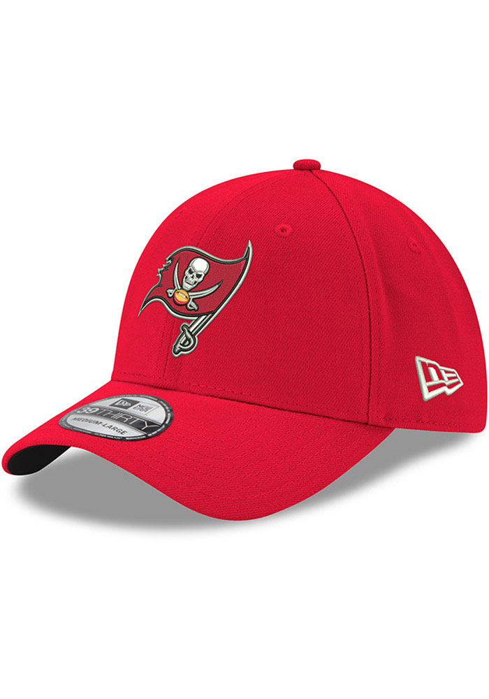 Tampa Bay Buccaneers New Era Team Classic 39THIRTY Flex Hat - Red