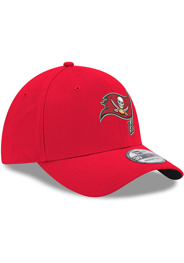 New Era Tampa Bay Buccaneers Mens Red Team Classic 39THIRTY Flex Hat - Image 2
