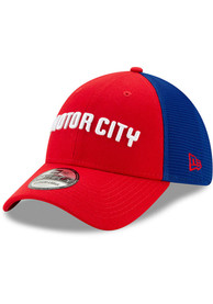 New Era Detroit Pistons Red 2019 City Series 39THIRTY Flex Hat