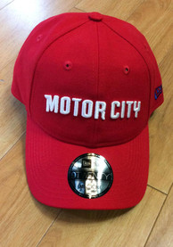 Detroit Pistons New Era 2019 City Series 9TWENTY Adjustable Hat - Red