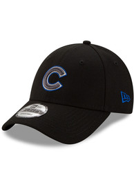 New Era Chicago Cubs Tonal The League 9FORTY Adjustable Hat - Black